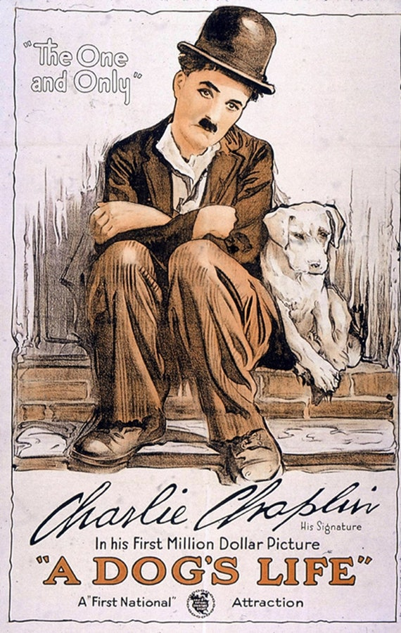 CHARLIE CHAPLIN MODERN TIMES 1936 MOVIE POSTER A3 A4 Classic Cult Film Art Print