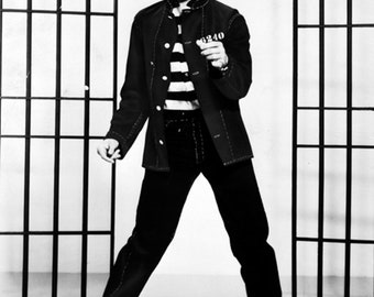 Elvis Presley Jailhouse Rock 1957 movie poster reprint 19x12.5 inches