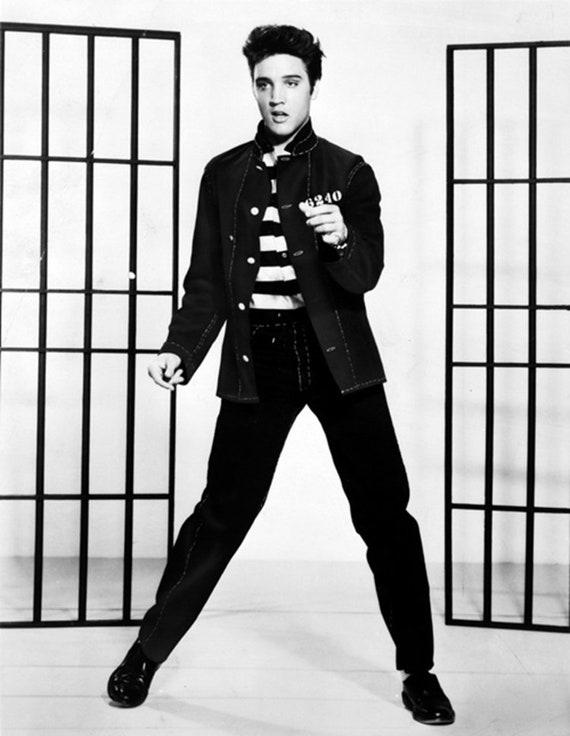 Elvis Presley Jailhouse Rock 1957 película cartel reimpresión | Etsy