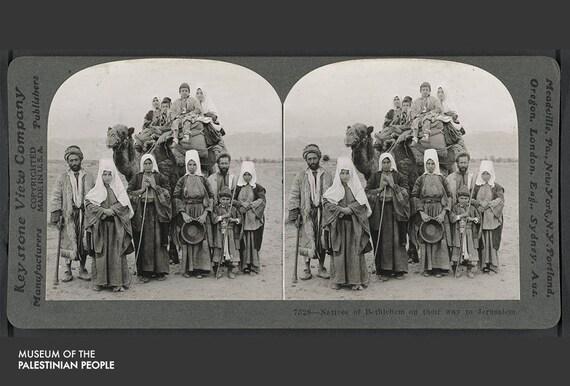 natives of bethlehem on their way to jerusalem etsy