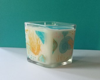 Sea Life Soy Wax Candle