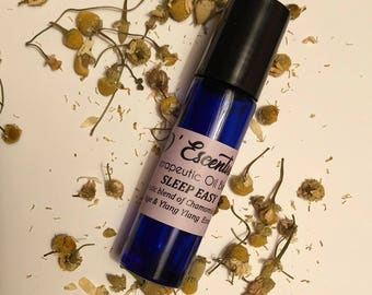SLEEP EASY Therapeutic Essential Oil Blend for Insomnia