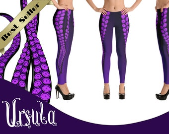 28de07b8b88b92 Ursula, The Little Mermaid, Disney Villain, Woman Leggings