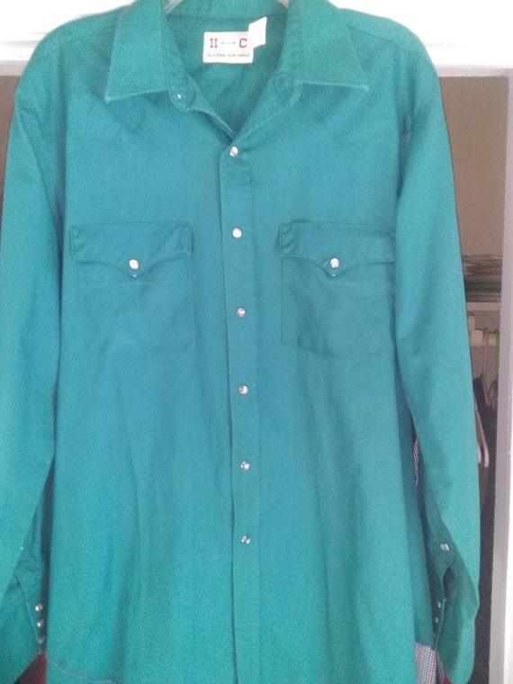 H Bar C Cowboy Shirt sz