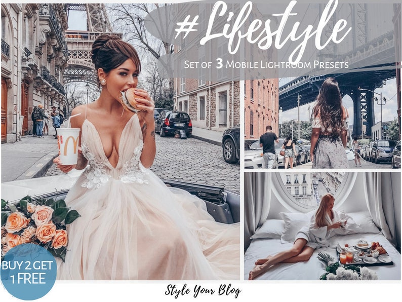 3 BEST LIFESTYLE Mobile Lightroom Presets vsco ir Family Mama Baby Beauty  bloggers, moody trendy popular top filters blonde brunette insta