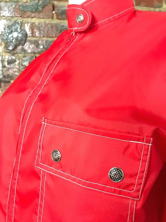 Windbreaker, Nylon Jacket, Vintage Jacket, Vintag… - image 6