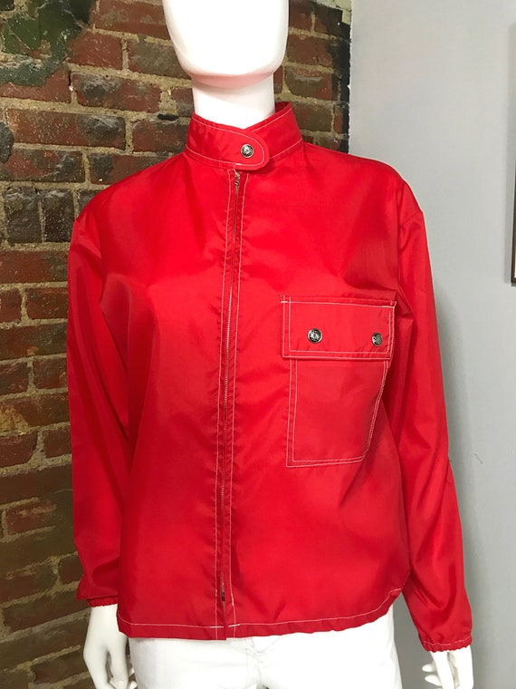 Windbreaker, Nylon Jacket, Vintage Jacket, Vintag… - image 4
