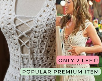 bf17a68f1abe4 Jennifer Aniston - Dress from the movie, Just Go with it, crochet dress,  swimsuit, cover up, swimsuit, beach dress, pool dress, boho, dress