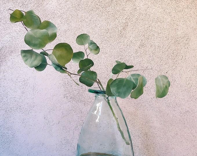 Thick Sculptural Glass Vase
