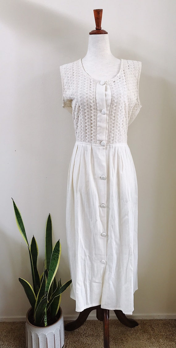 Bone Boho Dress