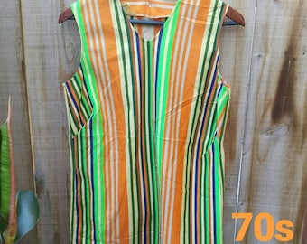 Baker Hill 70's striped tunic.