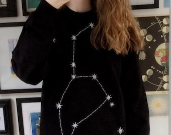 Star Sign Sweater - Leo - July 23rd- August 22nd