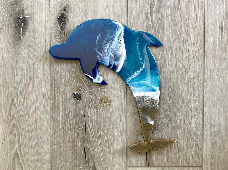 Ocean Resin Dolphin
