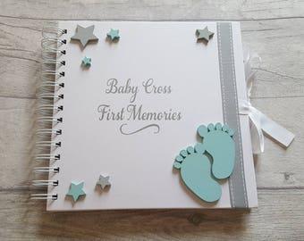c921563b54b6a Baby memory book | Etsy