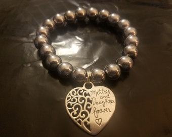 Handmade Beaded Bracelets with Charms