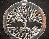 Sterling Silver 39 Tree Of Life 39 Pendant