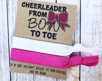 Celebration Cheerleader Personalized Hair Dance Team Spirit Sparkle Cheer Hair Accessories-Custom Team Colors Cheer Gift