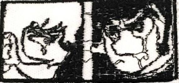 Akira And Ryo Crying Devilman Patch Etsy