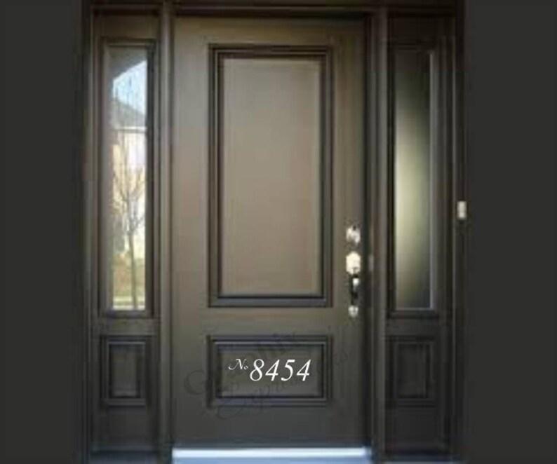 Door Number Decal
