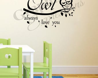 Owl Always Love You - Decal