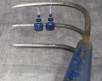 Blue Lapis Lazuli Sterling