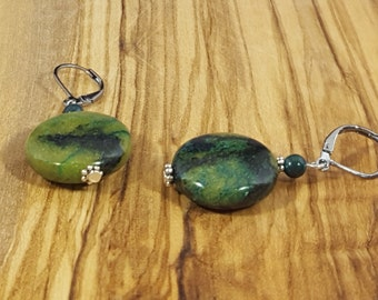 Green Moss Agate Rounds