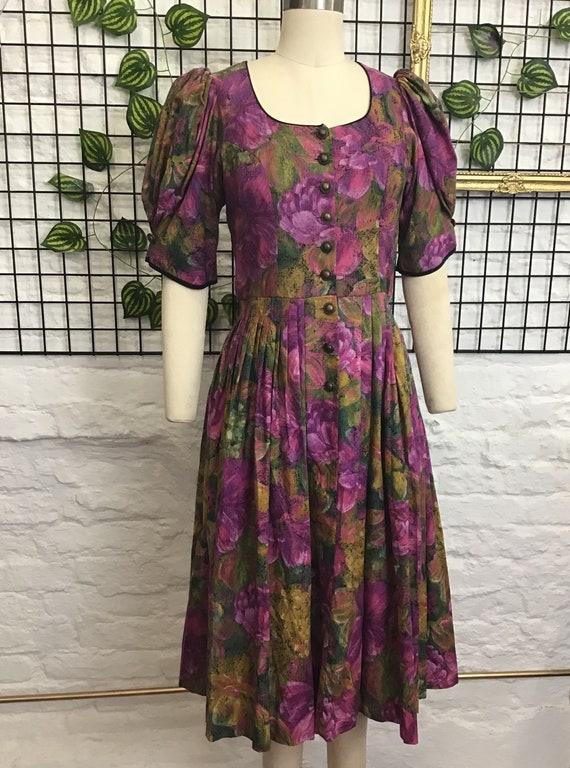 Pretty unique floral dress