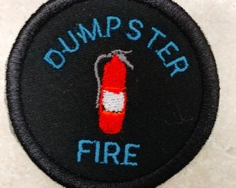 DUMPSTER FIRE EXTINGUISHER adult merit badge