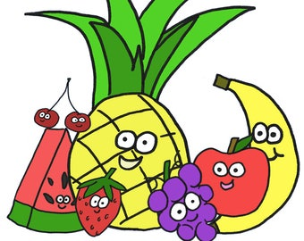 Fruit and Veggie ClipArt