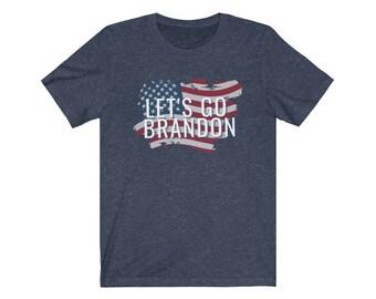 Lets go Brandon Unisex Jersey Short Sleeve Tee shirt #FJB shirt