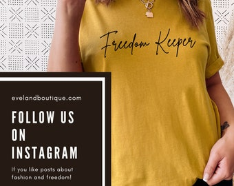 Freedom Keeper Shirt Informed Consent TShirt for Men and Women