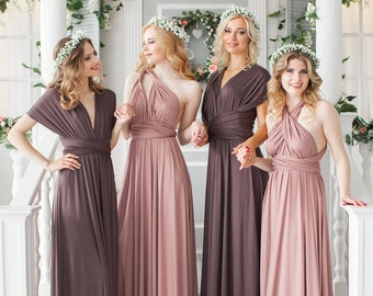 14819ac944d Bridesmaid Dress    Infinity Dress    Convertible Dress    Wrap Dress     Prom Dress    Multiway Dress    Party Dress   Ship from New York