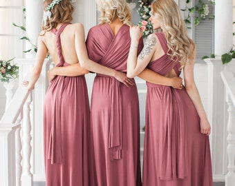 7eb88afd8e3b Bridesmaid Dress // Infinity Dress // Convertible Dress // Wrap Dress //  Prom Dress // Multiway Dress // Party Dress //Ship from New York