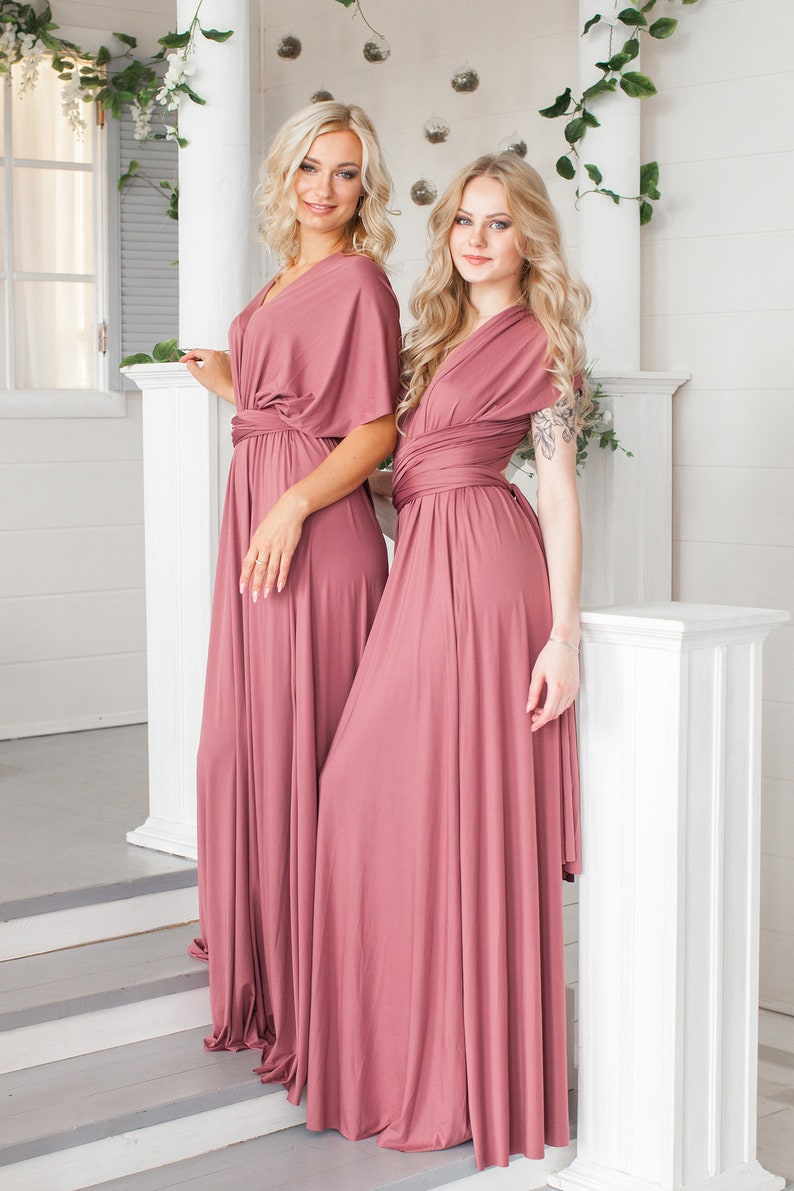 aa662ad2128 Bridesmaid dress blush bridesmaid dress Lilac maxi dress