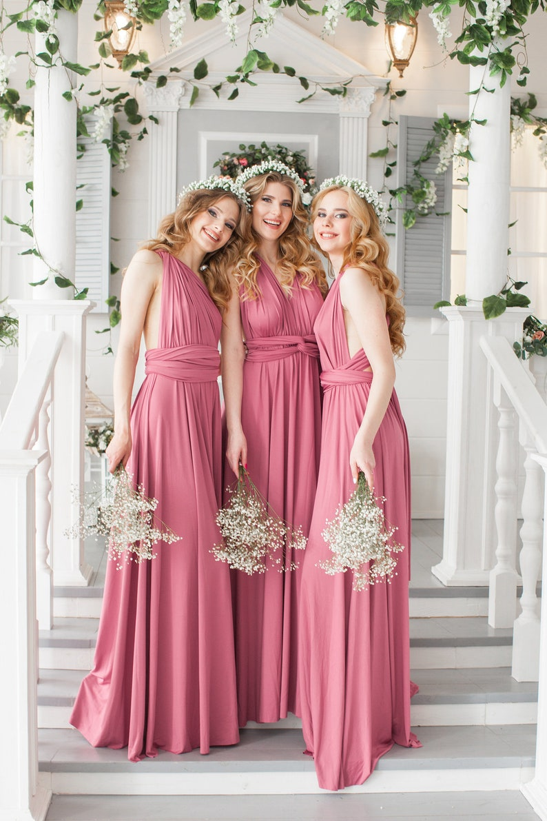 38ff14028df Bridesmaid Dress    Infinity Dress    Convertible Dress