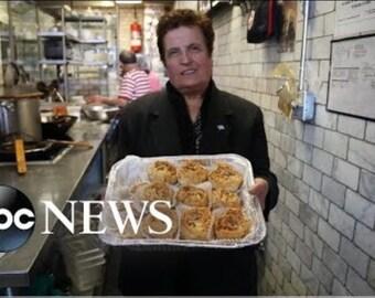 25 Jumbo Homemade Baklava Rose @ Ploumitsa's Greek Pastries