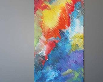 "Aura 24""x48"" Original Acrylic Painting"
