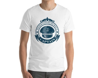 Ship Captain Tee Short-Sleeve Unisex T-Shirt