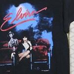Elvira, Mistress of the Dark, horror movie queen t-shirt, vintage rare tee shirt, 1980s 1985, Vampire Occult Witchcraft Devil goth gothic