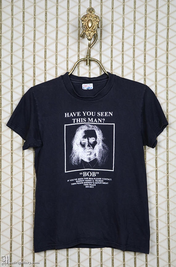 Twin Peaks t shirt, Bob, Black Lodge, vintage rare