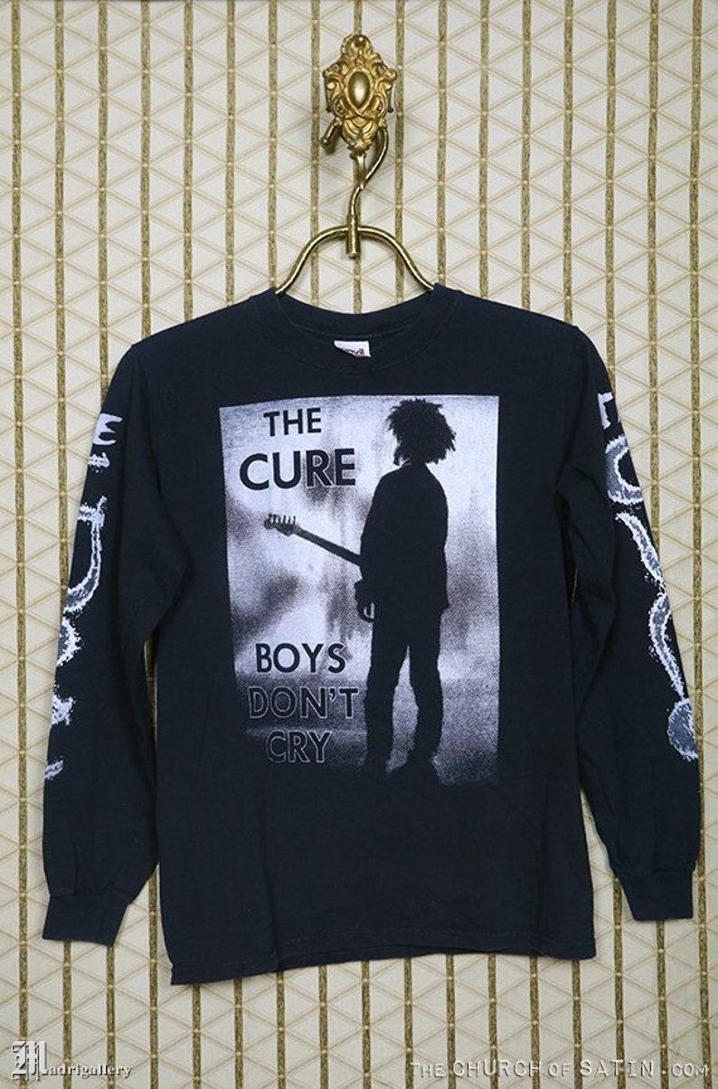 a704d7bb3 The Cure t-shirt vintage rare black tee shirt long sleeve | Etsy