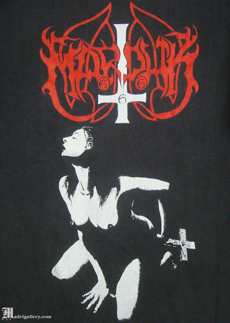 aede6d3f Marduk shirt vintage rare tee faded black t-shirt black | Etsy