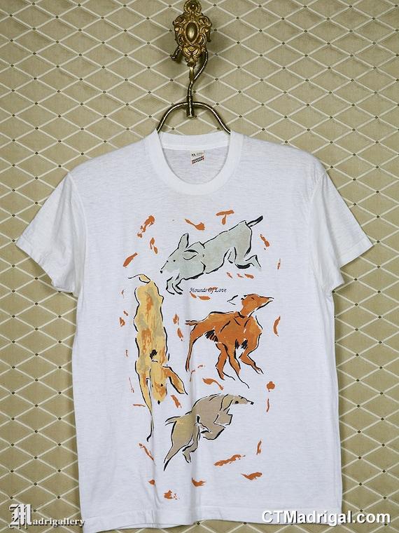 Kate Bush t-shirt, SCREEN STARS vintage rare Hound