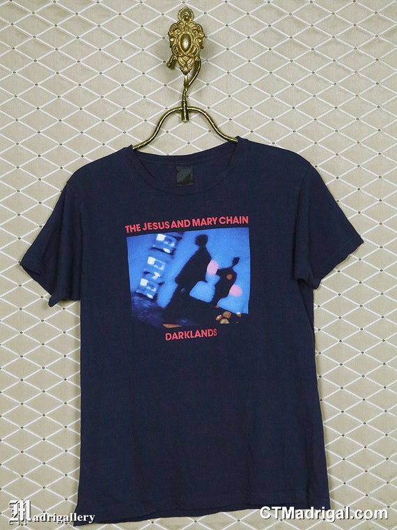 The Jesus and Mary Chain t-shirt, vintage rare tee