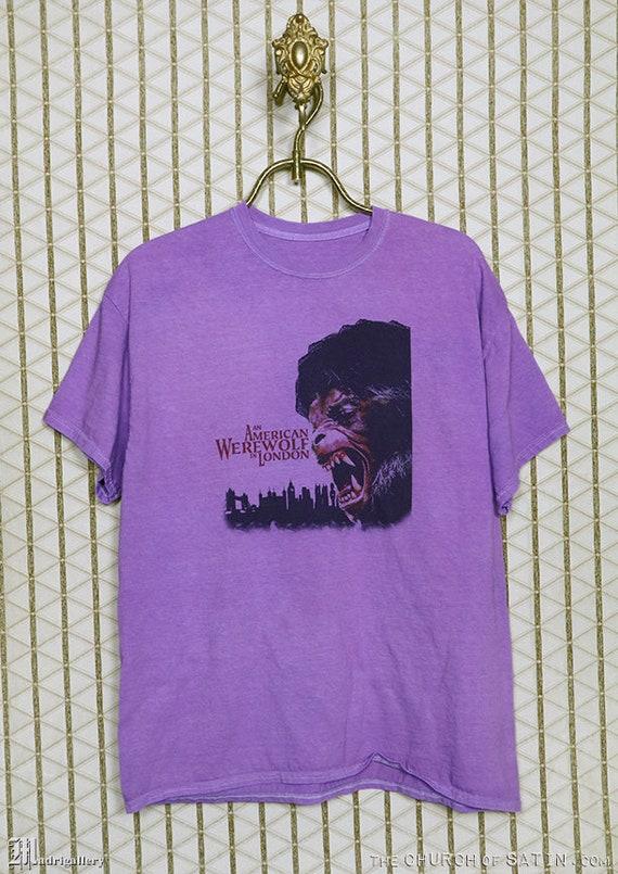 American Werewolf in London horror movie T-shirt,