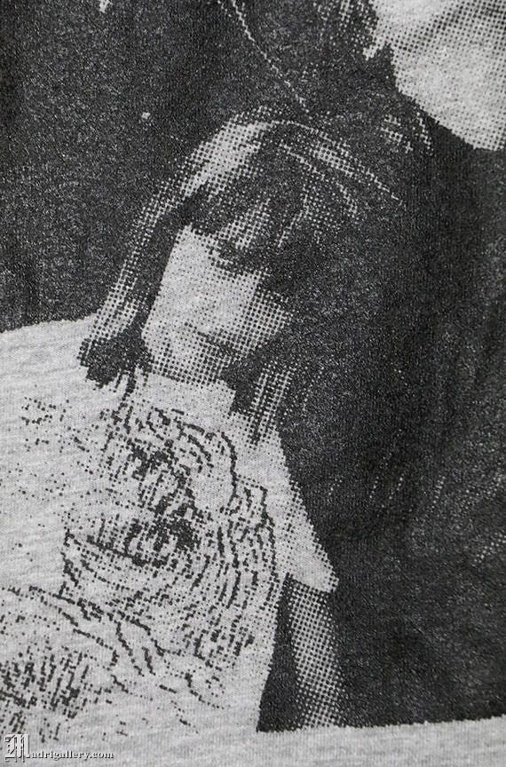 Sonic Youth shirt, vintage rare T-shirt heather g… - image 3