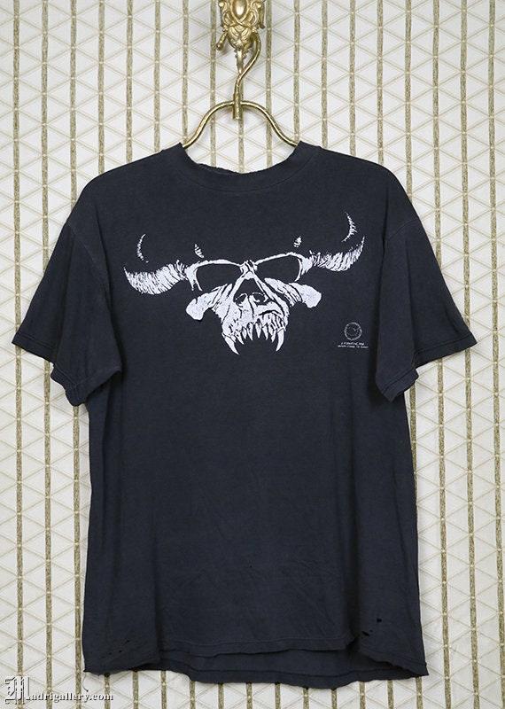 Danzig shirt, vintage 1988 t-shirt, Misfits Samhai