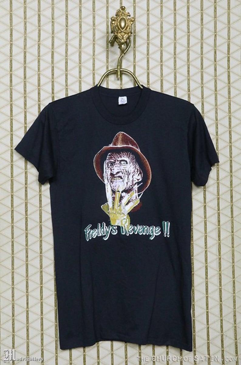 01251a2cc3f A Nightmare On Elm Street horror movie t-shirt vintage rare