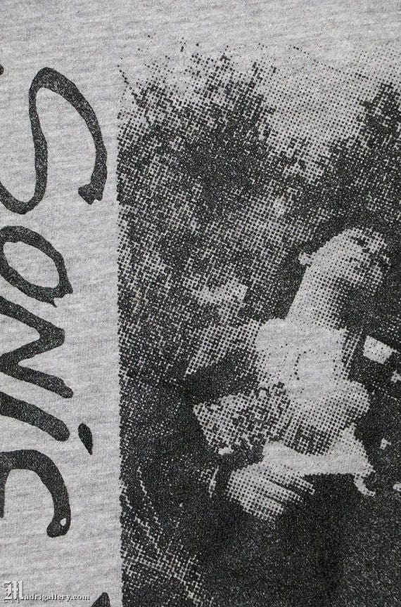 Sonic Youth shirt, vintage rare T-shirt heather g… - image 4