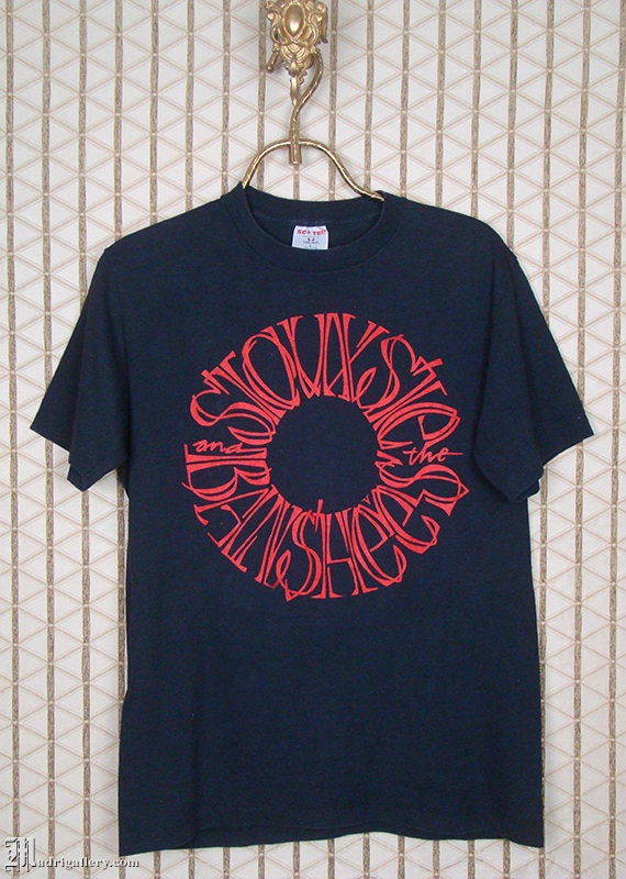 Siouxsie and the Banshees, vintage rare Peepshow T